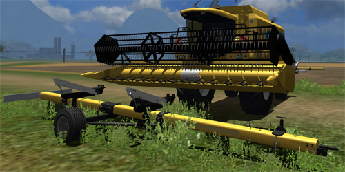 New Holland Schneidwerkwagen Pack