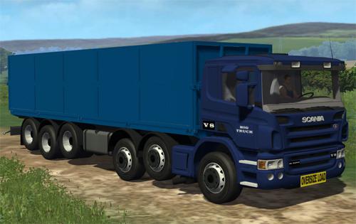 Scania R 500 Oversize