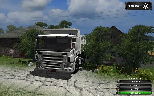 Scania 124G courseplay